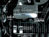 "Joaquin Joe Claussell - The Unofficial Edits & Overdubs Special Advanced Edition Vol.2-Vinyl 1 - 12"" Vinyl Release. photo"