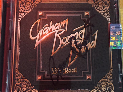 GRAHAM BONNET BAND - THE BOOK CD - SIGNED BY GRAHAM main photo