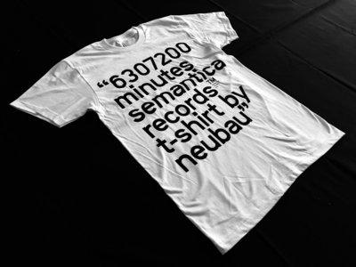 Semantica T-shirt. S/S 18. Neubau - 6307200 Minutes main photo