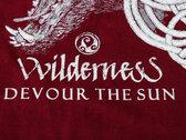 VVILDERNESS - Devour The Sun - TS (black / red) photo
