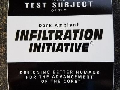 Dark Ambient Infiltration Sticker main photo