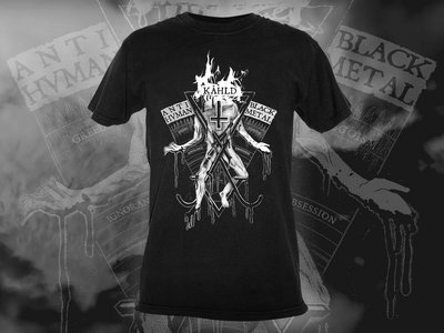 ANTIHVMAN BLACK METAL Shirt main photo