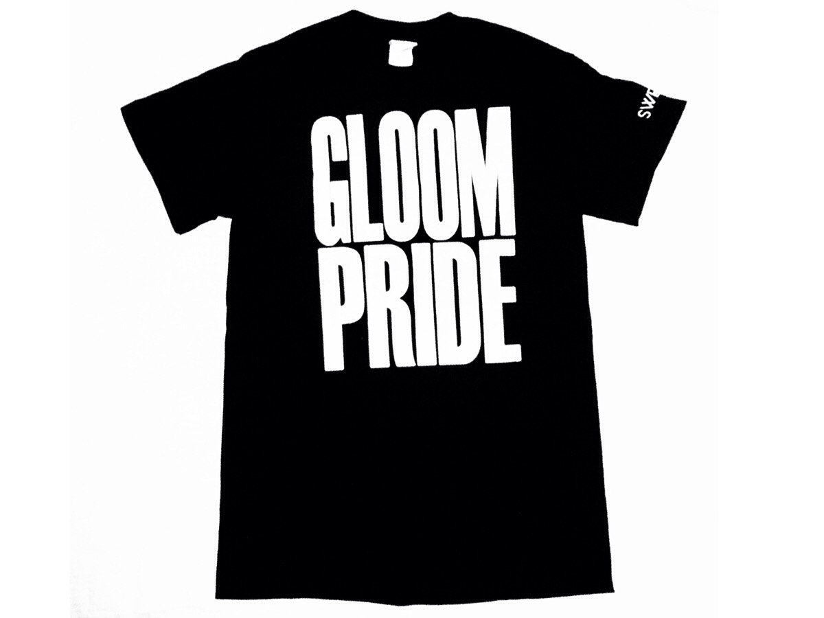 Glow Of Gloom >> Gloom Pride T Shirt Glow In The Dark Sweat
