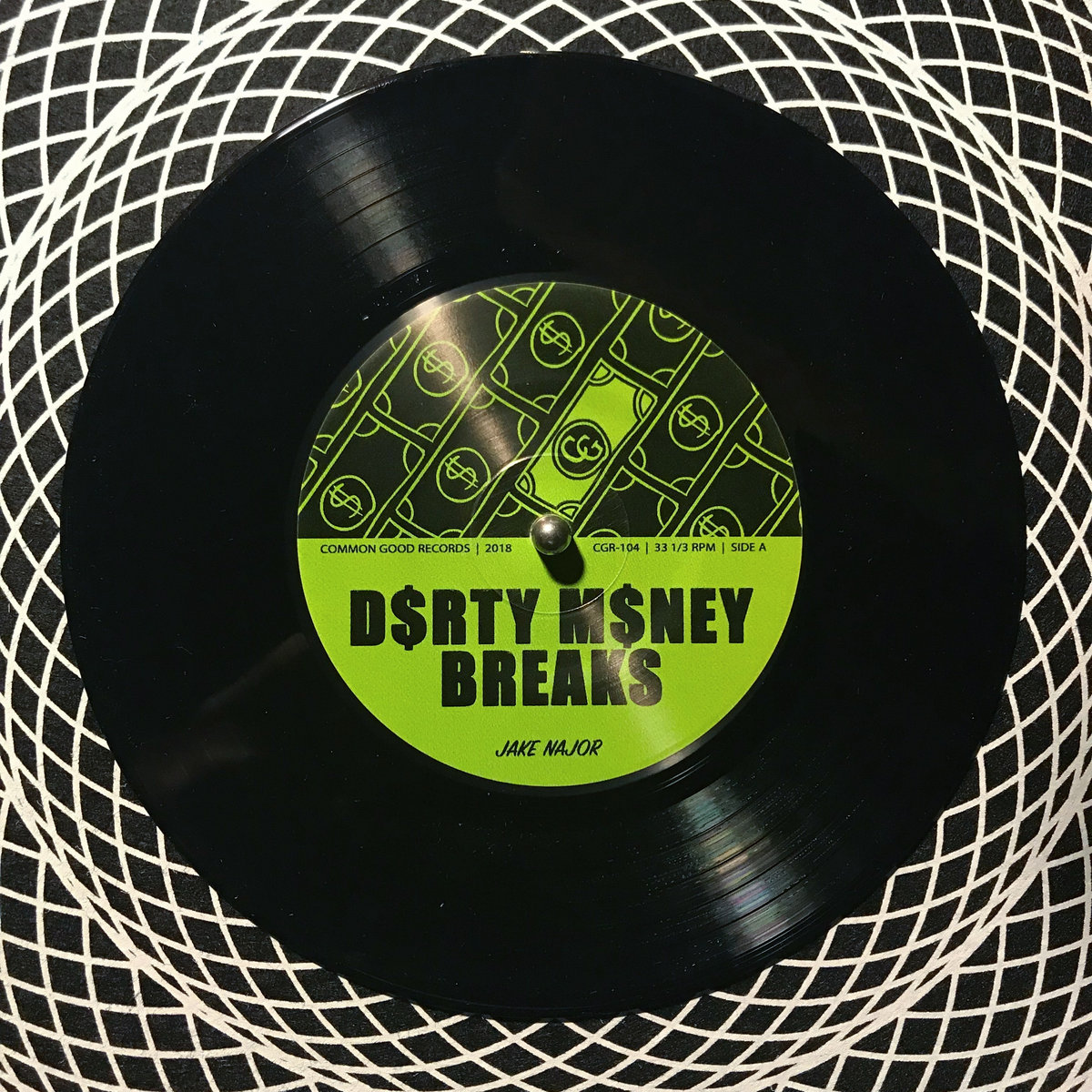 dirty money breaks vinyl producer drum kit common good records