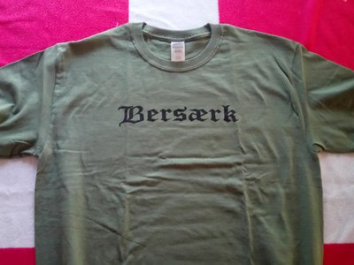 Bersærk Logo T-shirt - Army Grøn main photo