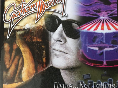 GRAHAM BONNET - FLYING NOT FALLING 3 CD BOX - SIGNED BY GRAHAM main photo