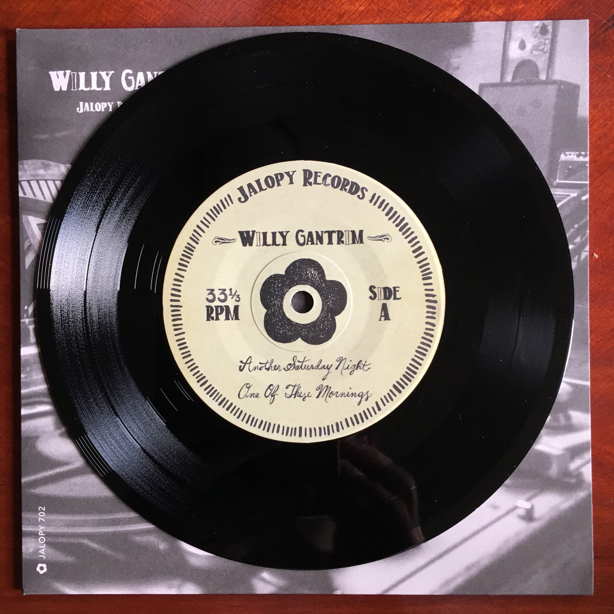 Willy Gantrim, 7 Inch Series | Jalopy Records
