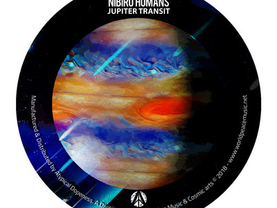 "World Peace Music Presents: Nibiru Humans Jupiter Transit: Episode 2 _ 12"" Vinyl Release. main photo"