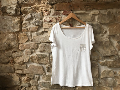 White Medium T-shirt for Girl main photo