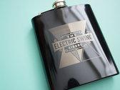 Electric Swing Circus Hip Flask photo