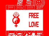 FREE LOVE T-SHIRT photo