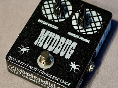 MUDBUG Tone Darkening Guitar and Instrument Effect Pedal (Hand Built By Splendid Obsolescence) main photo
