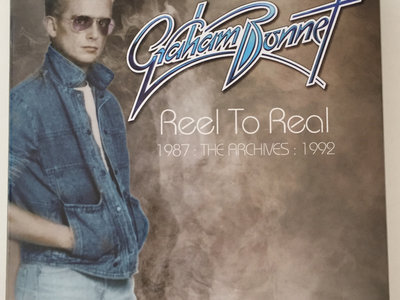 GRAHAM BONNET - REEL TO REAL : ARCHIVES 1987-1992 (3 CD BOX) - SIGNED BY GRAHAM main photo