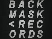 Backmask Records T-Shirt photo