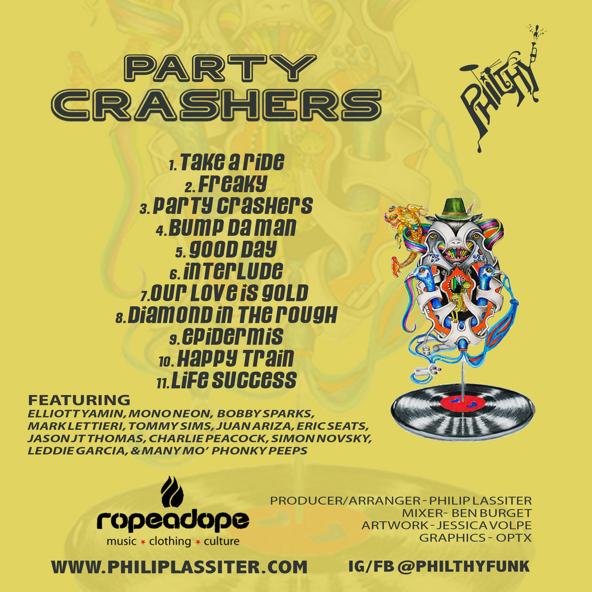 Party Crashers Philthy