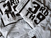 3rd & 9th Records T-Shirt (White) photo