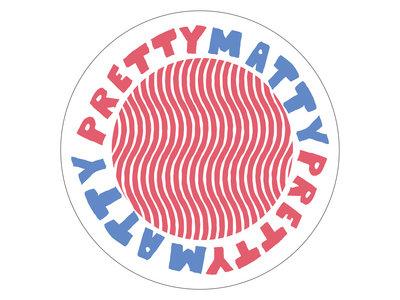 "2"" Pretty Matty vinyl sticker + Digital Download main photo"