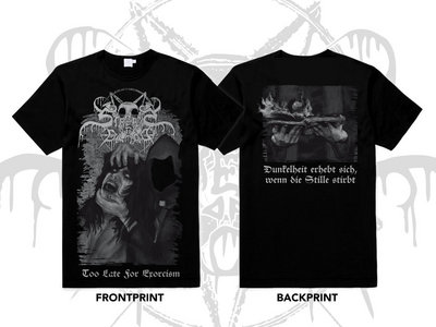 Streams Of Blood - Too late for exorcism - T-Shirt main photo