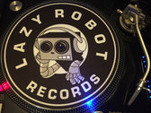 Lazy Robot Records 12inch Turntable Slipmat (Pair) photo