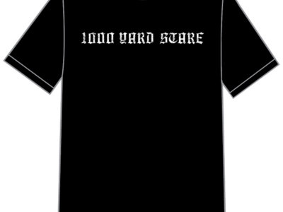 T-Shirt - 1000 Yard Stare Logo (Black Only) main photo