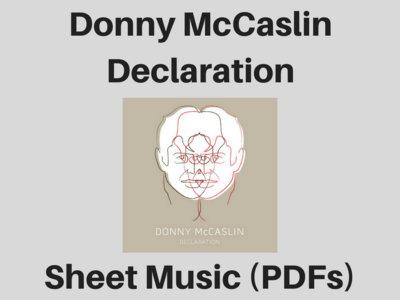 Donny McCaslin   Declaration   Sheet Music (PDF) main photo