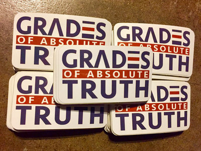 Grades Of Absolute Truth Sticker (rounded rectangle) main photo