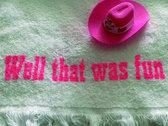 Tiny Pink Clip-On Cowboy Hat photo