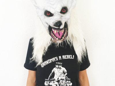 Grandma's a Rebel! T shirt main photo