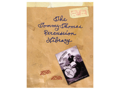 Tommy Thomas Percussion Library-334 page book main photo