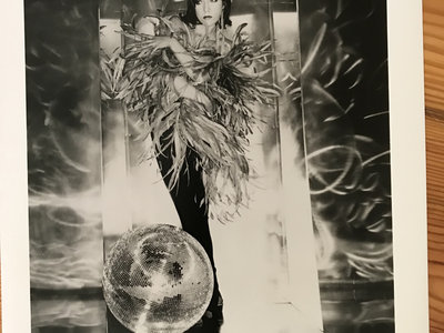 """Billie Ray Martin - Feather Boa"" Photosession - Promo Card  (Magnet Records) main photo"