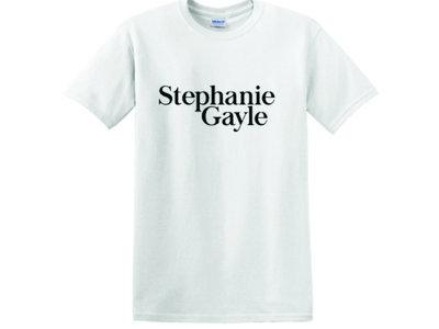 Stephanie Gayle Logo, White T-Shirt main photo