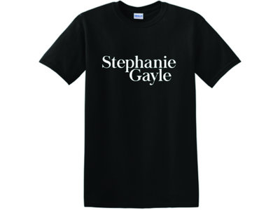 Stephanie Gayle Logo, Black T-Shirt main photo