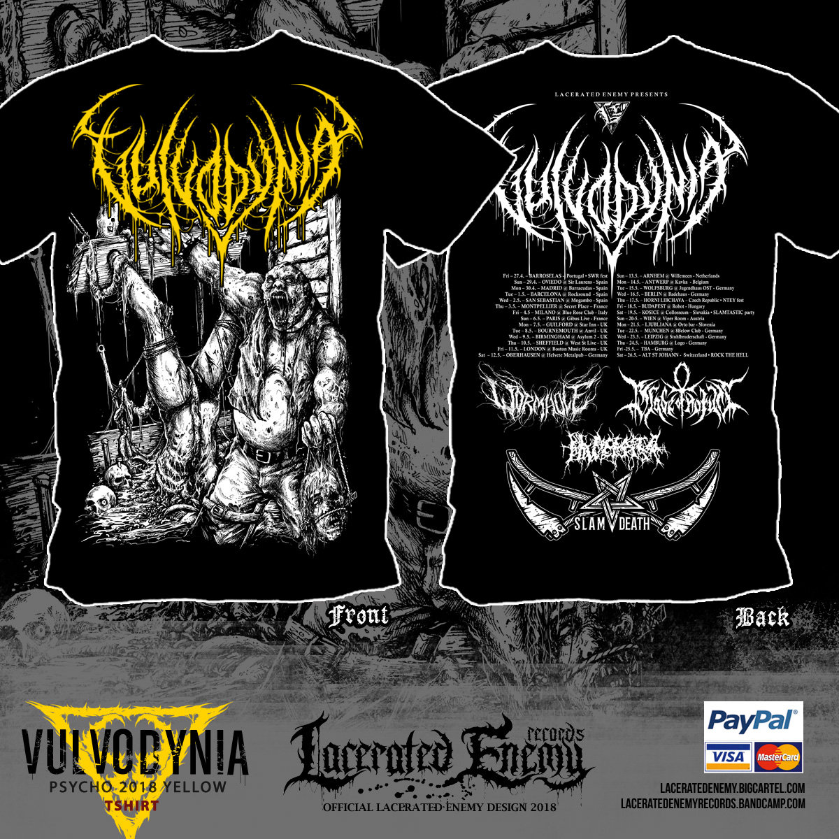 Psychosadistic Design | Lacerated Enemy records
