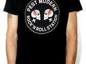 Pest Modern T-shirt + Button photo