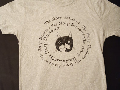 Heather Grey Cat Logo T-Shirt main photo