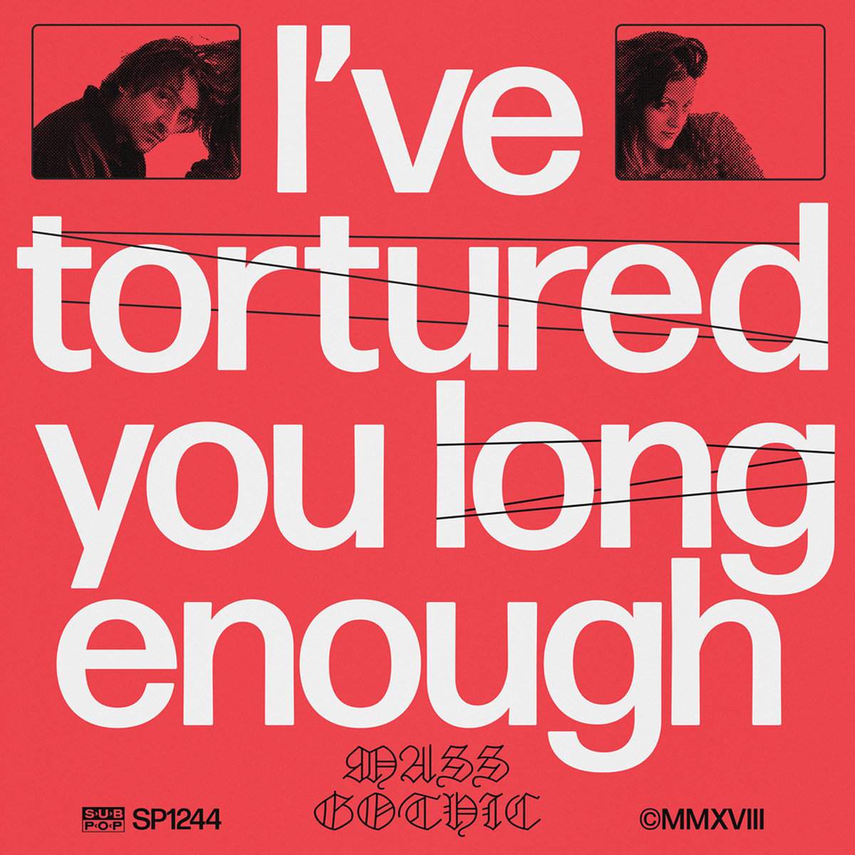 Image result for Mass Gothic - I've Tortured You Long Enough