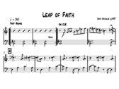 Dave Douglas | 20 Pieces for Quartet | Sheet Music (PDF) photo