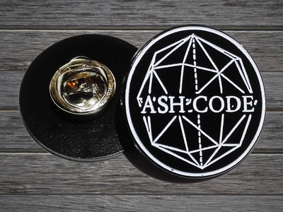 Ash Code 'Logo' METAL Pin main photo