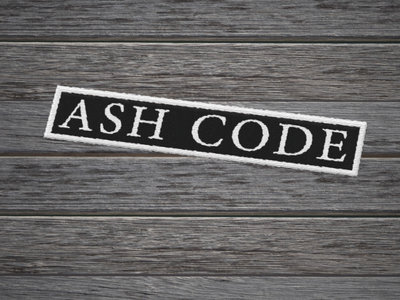 Ash Code 'Logo' Rectangle Patch main photo