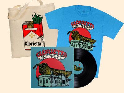 Tote bag / t shirt / vinyl LP bundle main photo