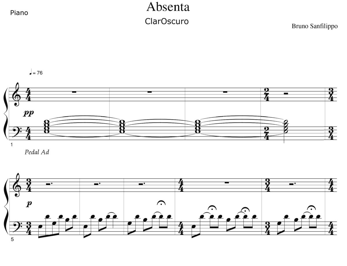 Pdf Piano Music Sheets
