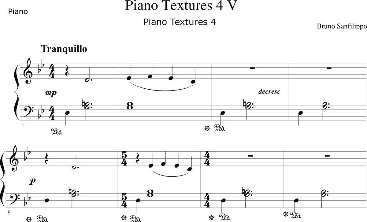 Pdf Piano Music Sheets
