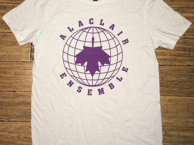 T-shirt blanc - Alaclair Monde main photo