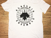 T-shirt blanc - Alaclair Monde photo