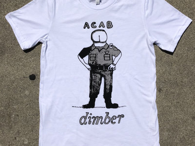 "dimber ""ACAB"" t-shirt main photo"