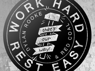 "Work Hard Hammer 3"" Sticker (Pre-Order) main photo"