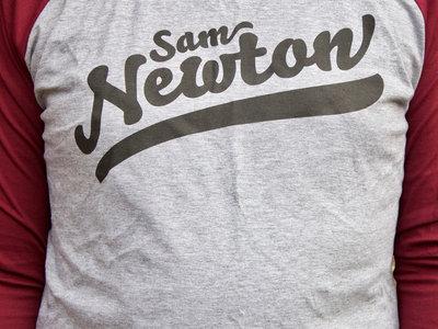 Limited Edition Sam Newton Baseball T-Shirt main photo