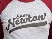 Limited Edition Sam Newton Baseball T-Shirt photo