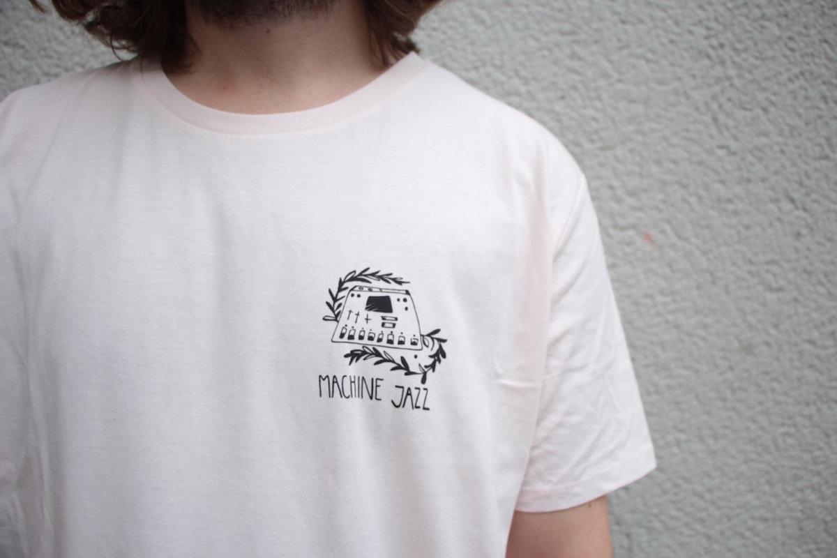 Sympathique machine Youth T-shirt signature croisés Pistons
