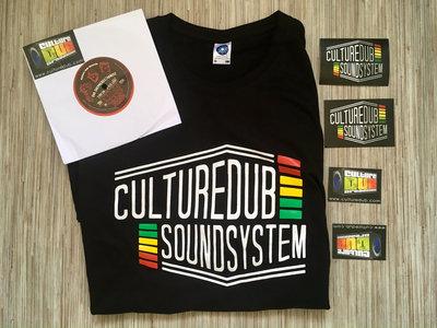 Culture Dub Sound System T-Shirt + 7inch CDR009 (Kandee meets Dub Shepherds) main photo